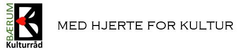 Bærum Kulturråd logo med branding
