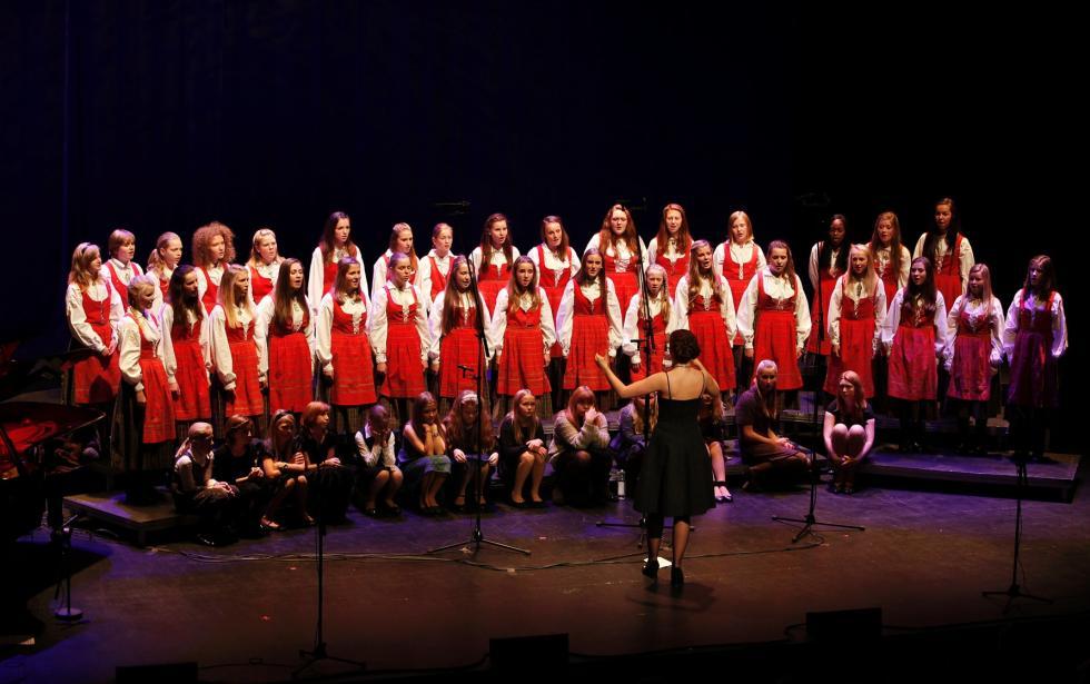Bærum Pikekor jubileumskonserten 2011