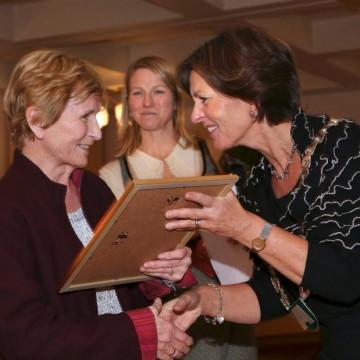 Eva Marie Bellis fikk Frivillighetsprisen 2014