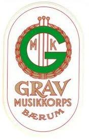 Grav musikkorps logo