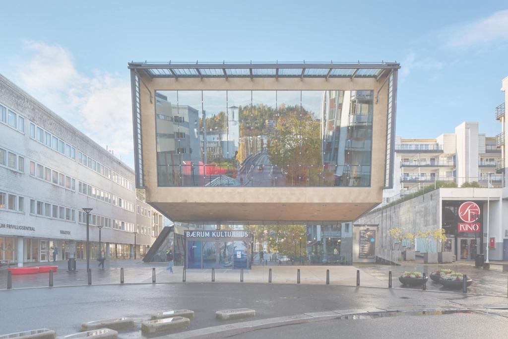 Bærum Kulturhus Foto: © Bruce Damonte