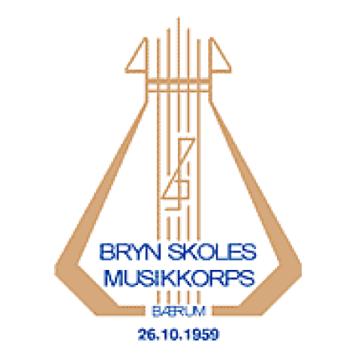 Bryn skoles musikkorps logo