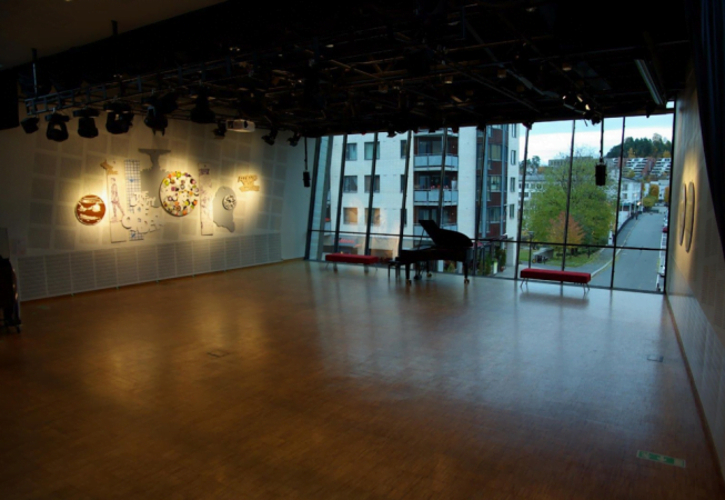 Baerum Kulturhus foajescenen
