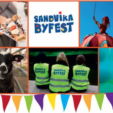 Banner Sandvika Byfest 2019